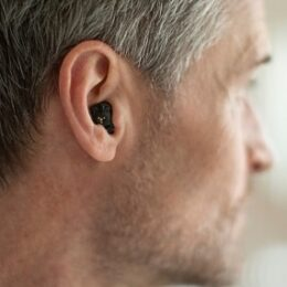 In ear hearing aid
